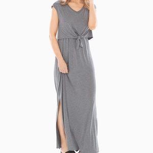 Soma Knotted Front Sleeveless Dress EUC